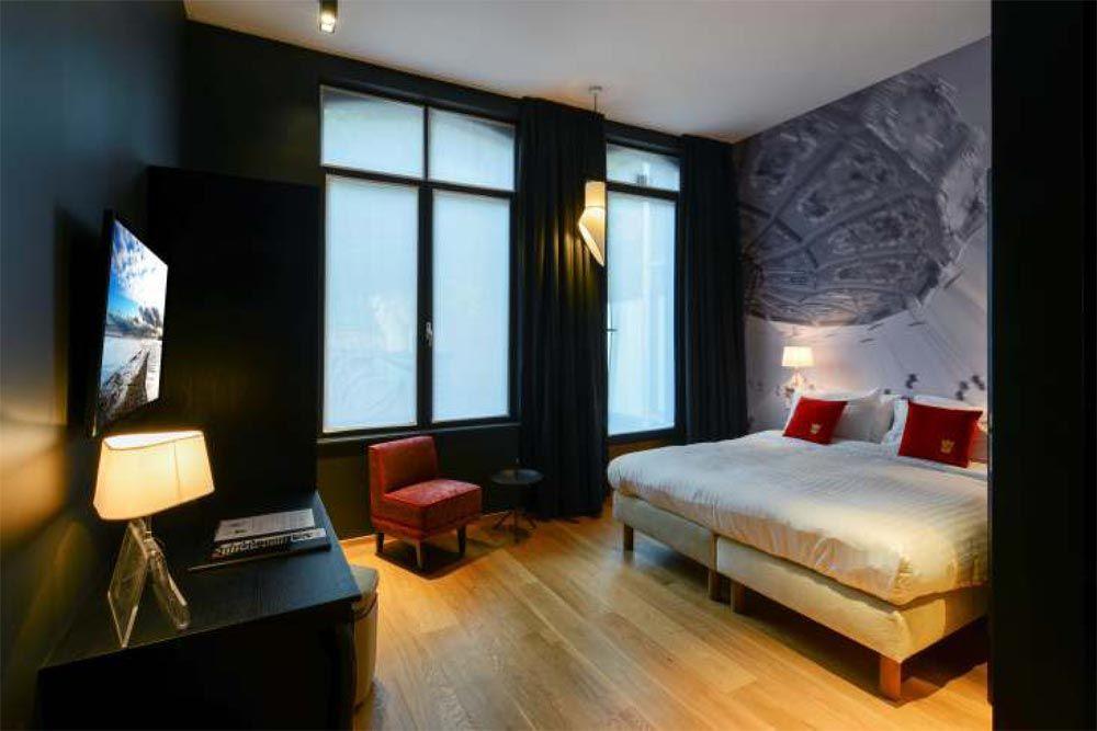 Hotel Royal Snail A Namur En Belgique Par Buro 5 Interieurs D Hotel Architecture Interieure Design