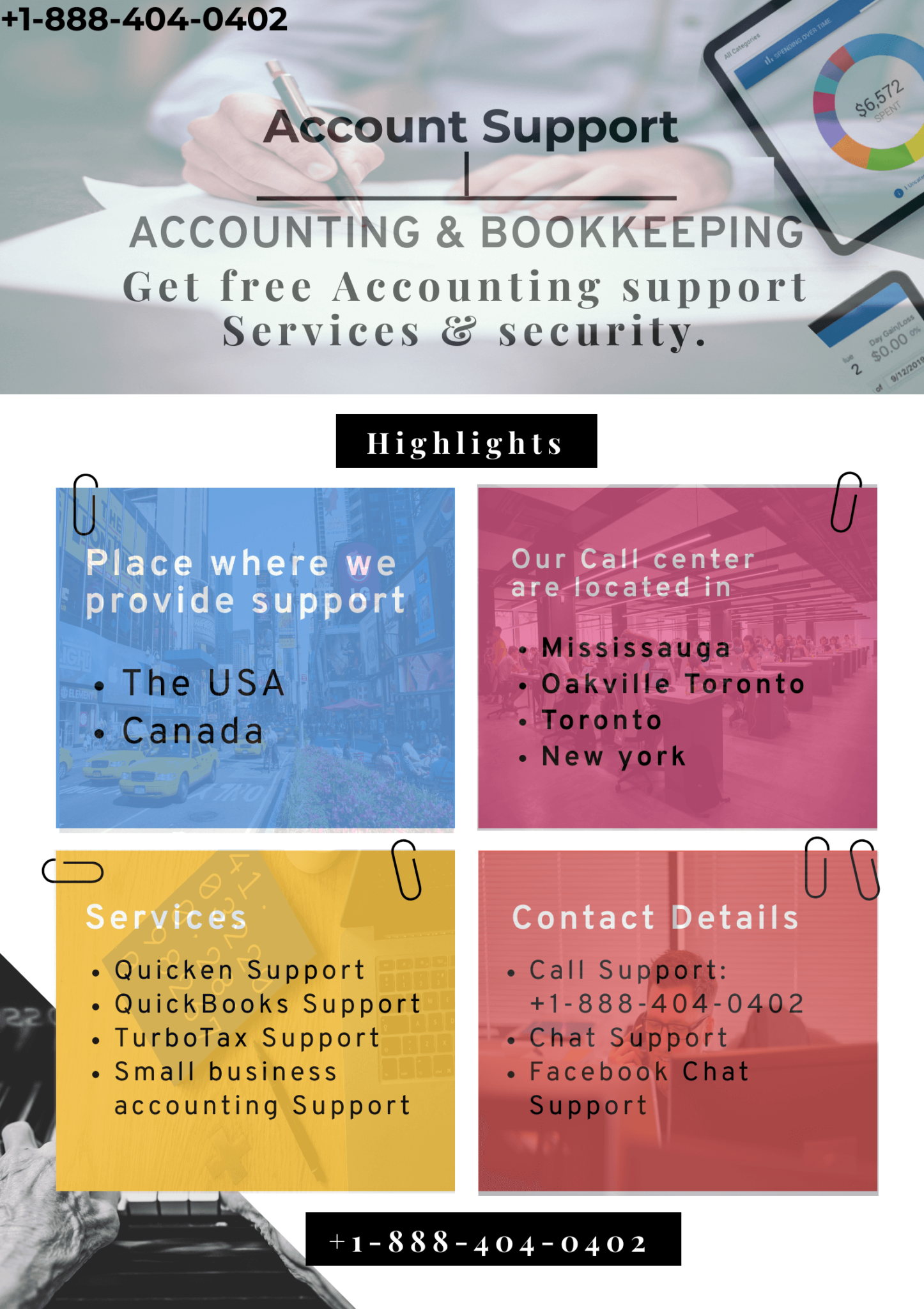 Get free Accounting support Services & security. in 2020