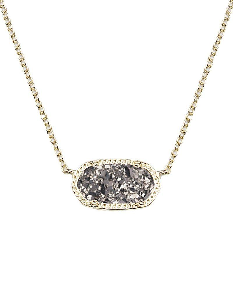 Vicki gunvalsons black druzy earrings and necklace kendra scott kendra scott elisa druzy pendant aloadofball Image collections