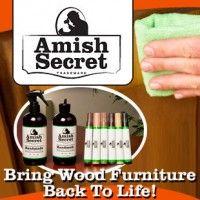 Amish Secret Wood Polish Bring Wood Furniture Back To Life Wood Polish Amish Cool Things To Buy