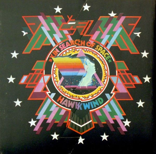 Hawkwind   In Search of Space   1971 Design by Phil Smee