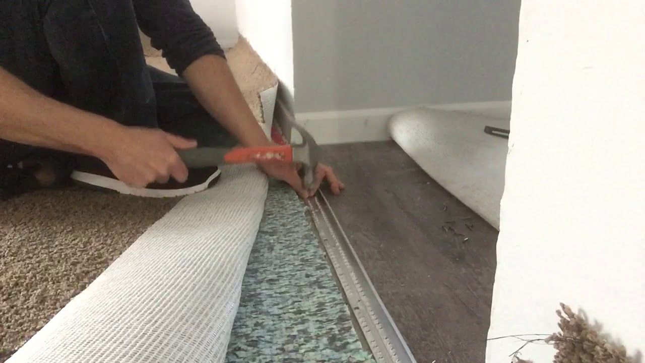 Best Of How To Install Vinyl Flooring Next Carpet And Description Carpet Repair Transition Strips Steam Clean Carpet
