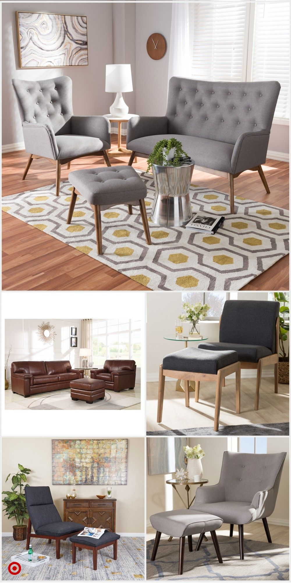 Fantastic Shop Target For Chair And Ottoman Sets You Will Love Creativecarmelina Interior Chair Design Creativecarmelinacom