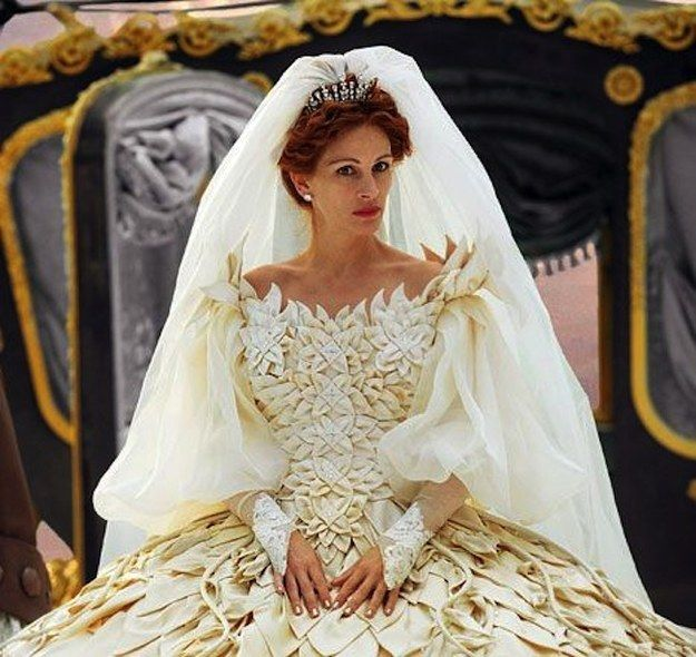 48 of the most memorable wedding dresses from the movies | wedding