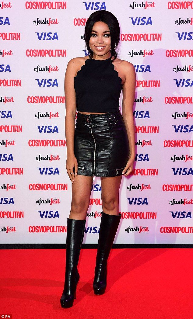 Millie Mackintosh displays her endless legs in thigh-skimming LBD ...