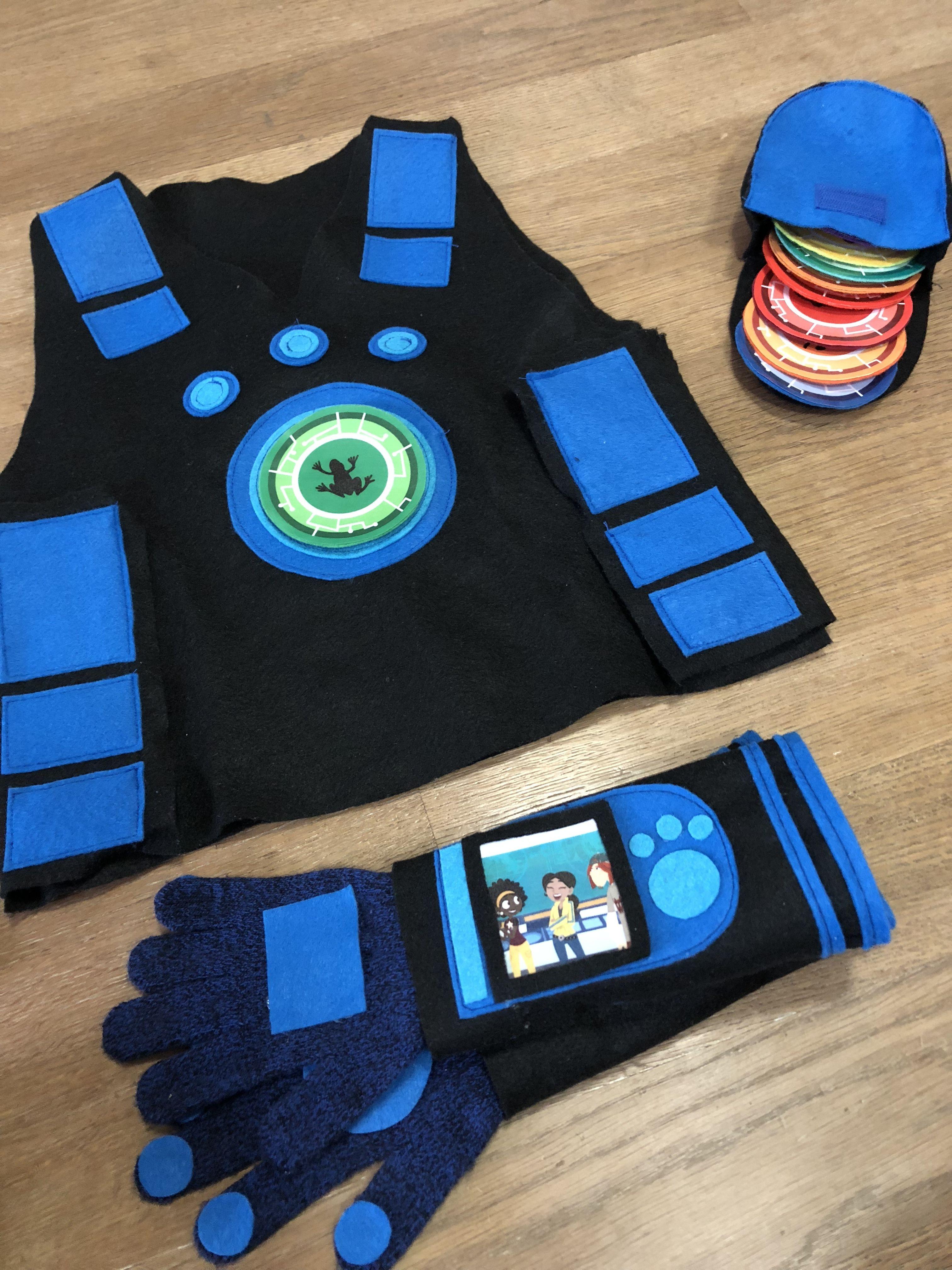 Wild Kratts Halloween 2020 Wild Kratts costume blue | Wild kratts party, Wild kratts costume