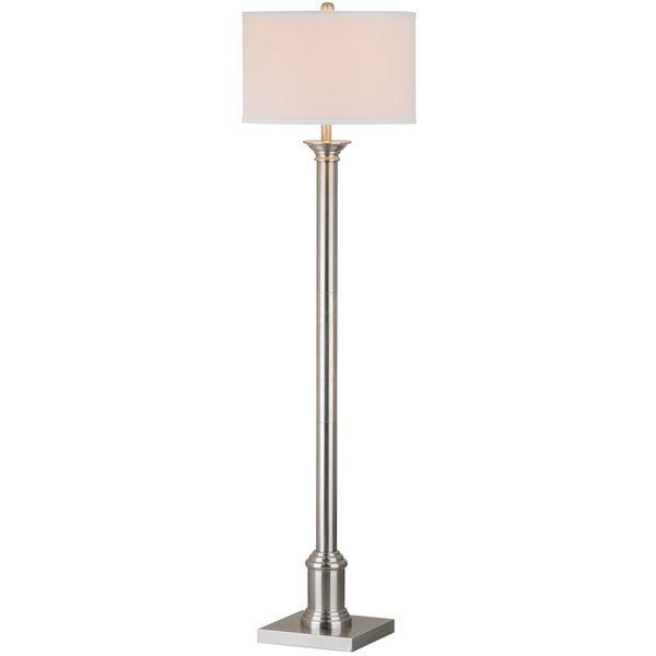 95 safavieh lighting 60 inch livia nickel floor lamp overstock 95 safavieh lighting 60 inch livia nickel floor lamp overstock mozeypictures Images