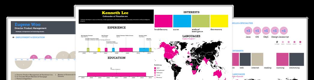 4 Free Top Resume Infographic Creators Tech Girl Gadgets