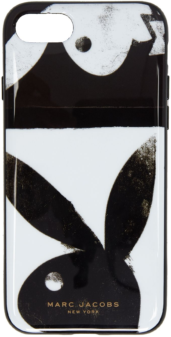 Black and White Playboy iPhone 8 Case Marc Jacobs mYIbl