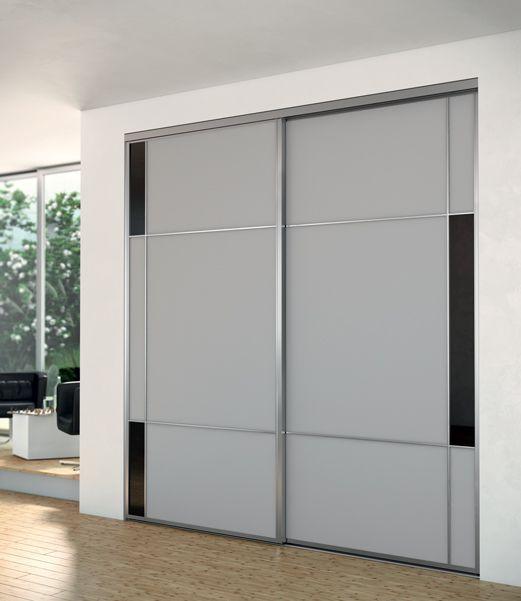 Portes coulissantes placards   dressings   pièces Sogal® Portes et