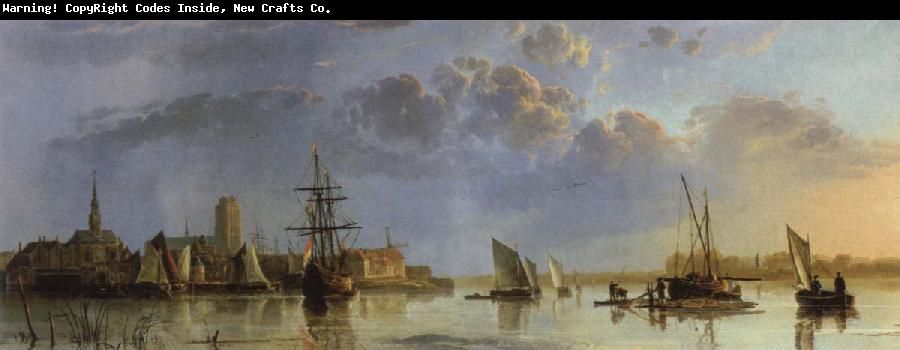 Aelbert Cuyp dordrecht from the north oil painting picture