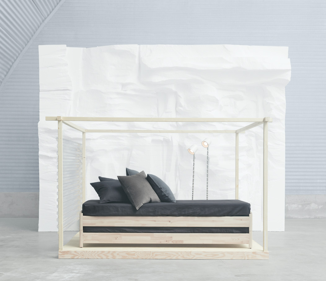 Ikea's new stackable bed can be used in 4 different ways