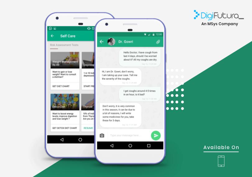 HealthCare Web Mobile Medical app, App development