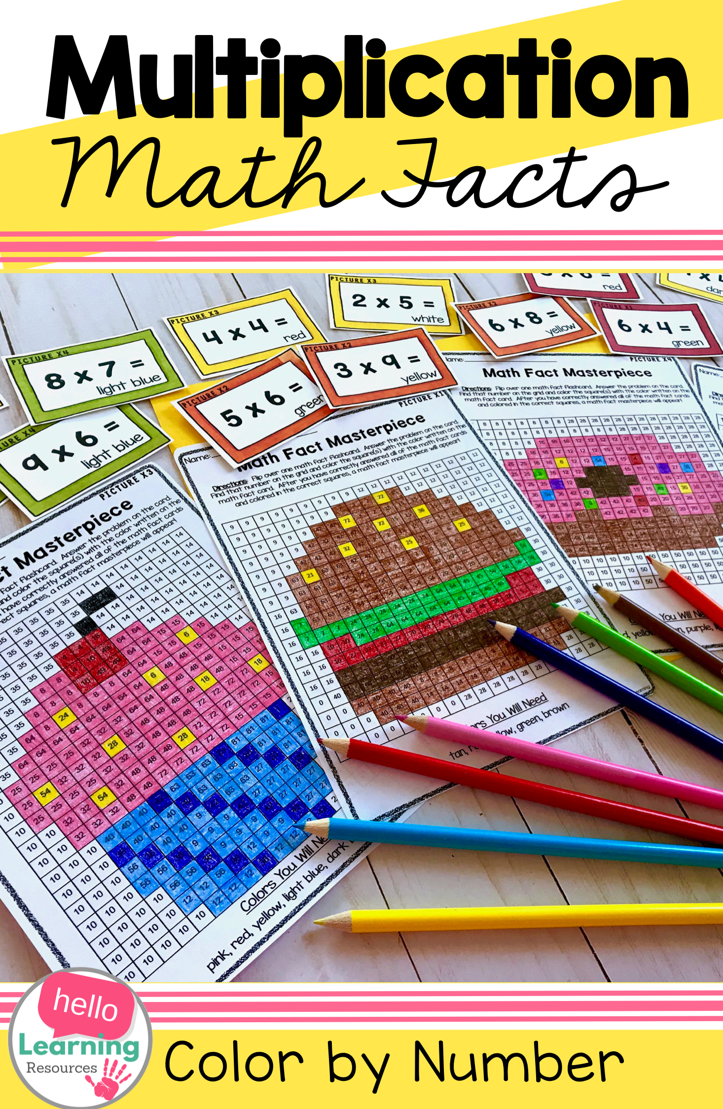 Multiplication Facts Practice Set 1