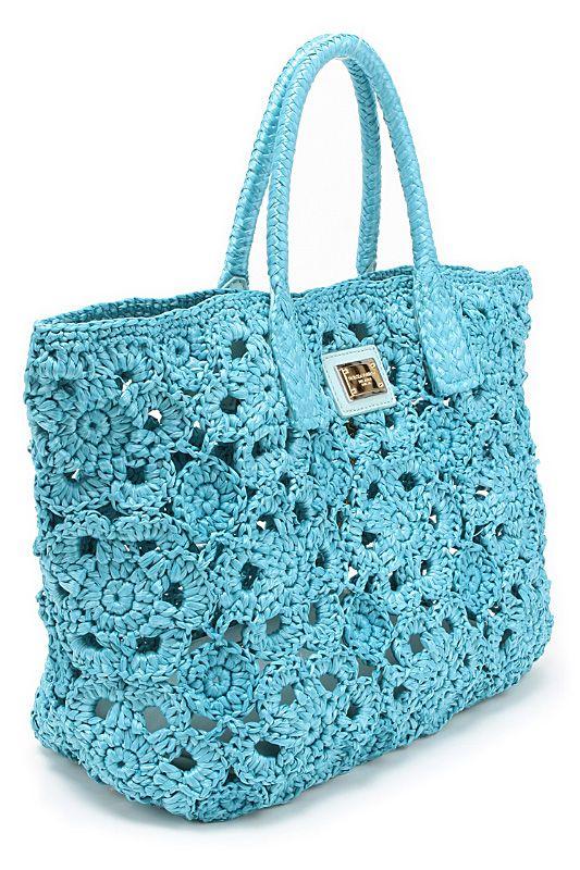 Crochet Dolce Gabbana Borse Uncinetto Estive 2015 Borse