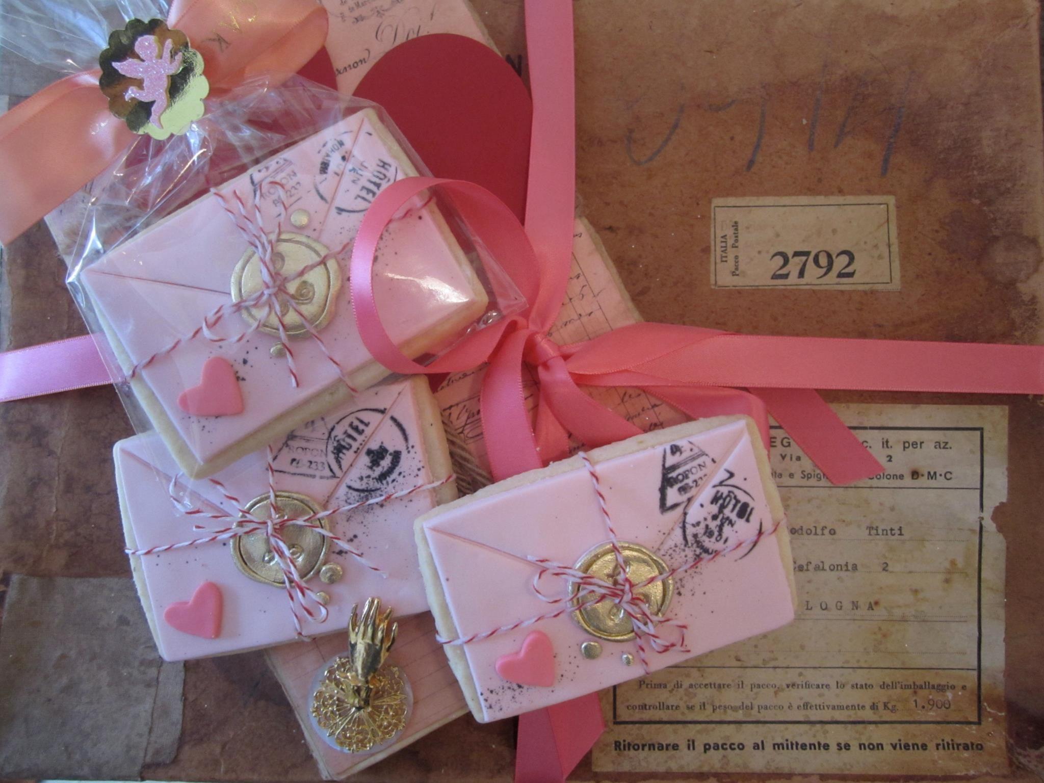 Love Letter Sugar Cookies