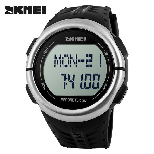 Humble Men Sports Watches 3d Pedometer Heart Rate Monitor Calories Counter 50m Waterproof Digital Led Mens Wristwatches G Style Shock Digital Watches