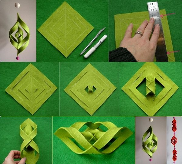 How to Make a 3D Paper Snowflake | 3d Paper Snowflakes, 3d Paper ...