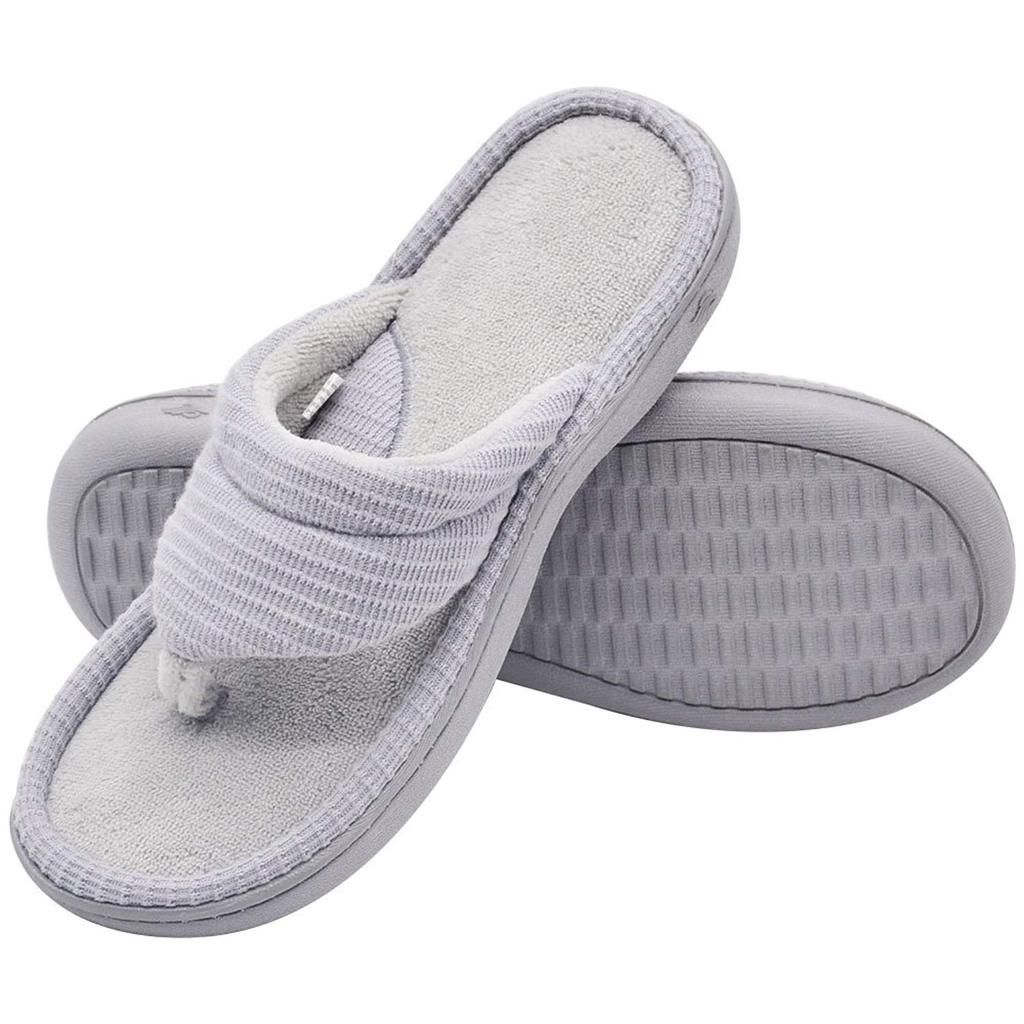 63d6e12abe90 Wishcotton Women s Slippers Breathable Quick Dry Open Toe Flip Flops ...