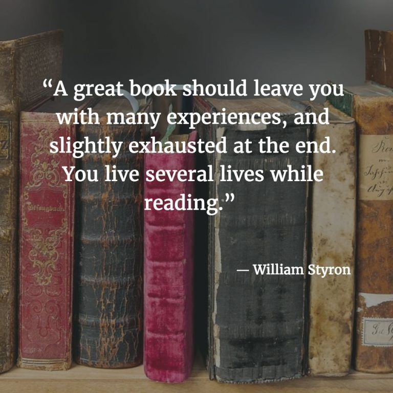 20 Quotes of Wisdom for Book-Lovers