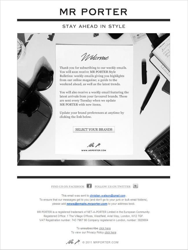 eblast letter design examples - Google Search | Design