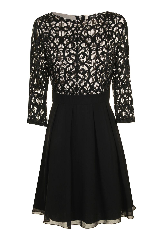 Little Mistress Black   Cream Lace Overlay Skater Dress £ 8 Shop here   www.retailtherapyfashion.com 26821e09f