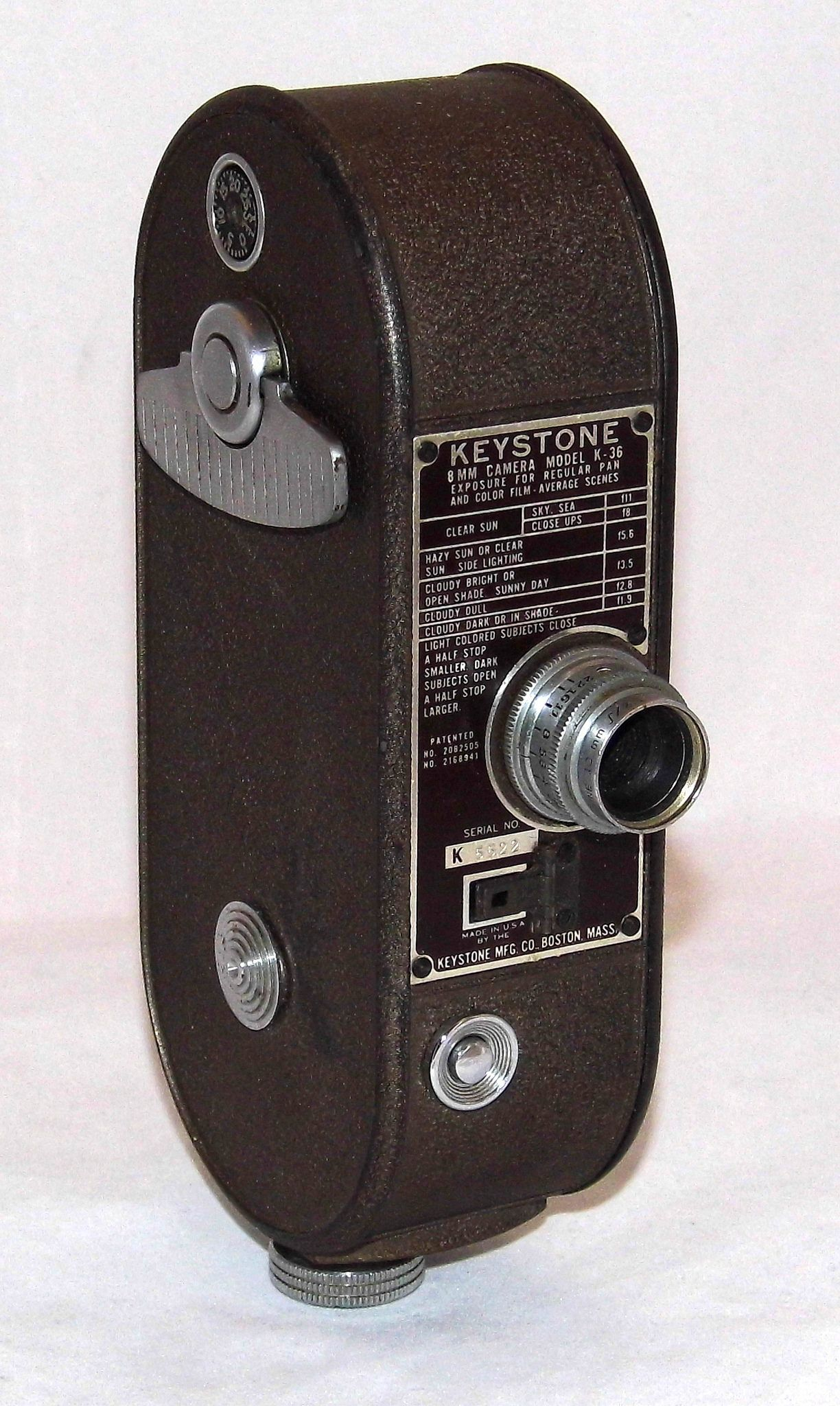 8Mm Vintage Camera vintage keystone 8mm home movie camera, model k-36, made in