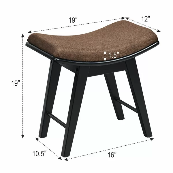 Leominster Vanity Stool With Images Vanity Stool Stool