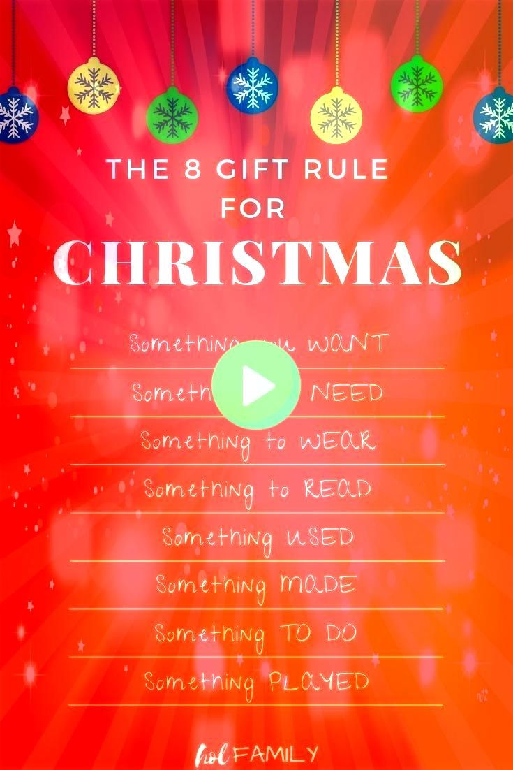 Eight Gift Rule for Kids to Keep Christmas StressFree The Eight Gift Rule for Kids to Keep Christmas StressFree The Eight Gift Rule for Kids to Keep Christmas StressFree...