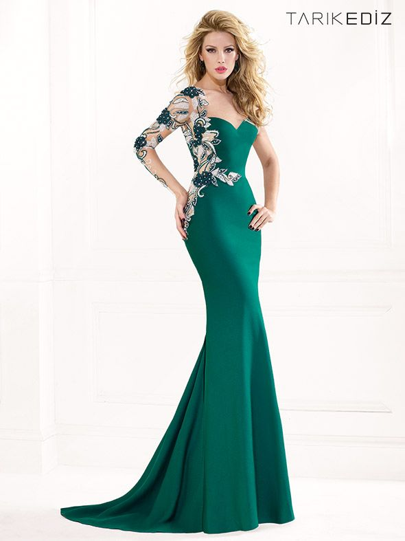 Evening Dresses From Turkish Designer Tarik Ediz  7968655a1093