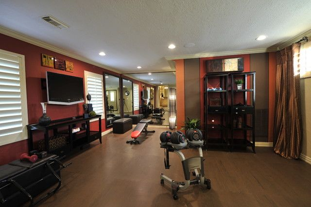 Home Gym Small Home Gyms Design Pictures Remodel Decor And Ideas Page 33