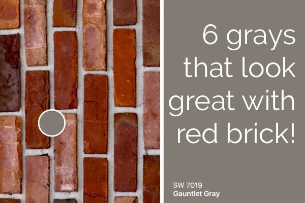 Pin By Elegant Painting On Colors That Go With Everything In 2018 Red Bricks Brick House