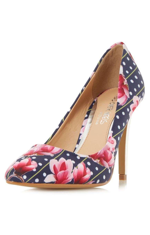 heels by dune multi aine high heel shoes