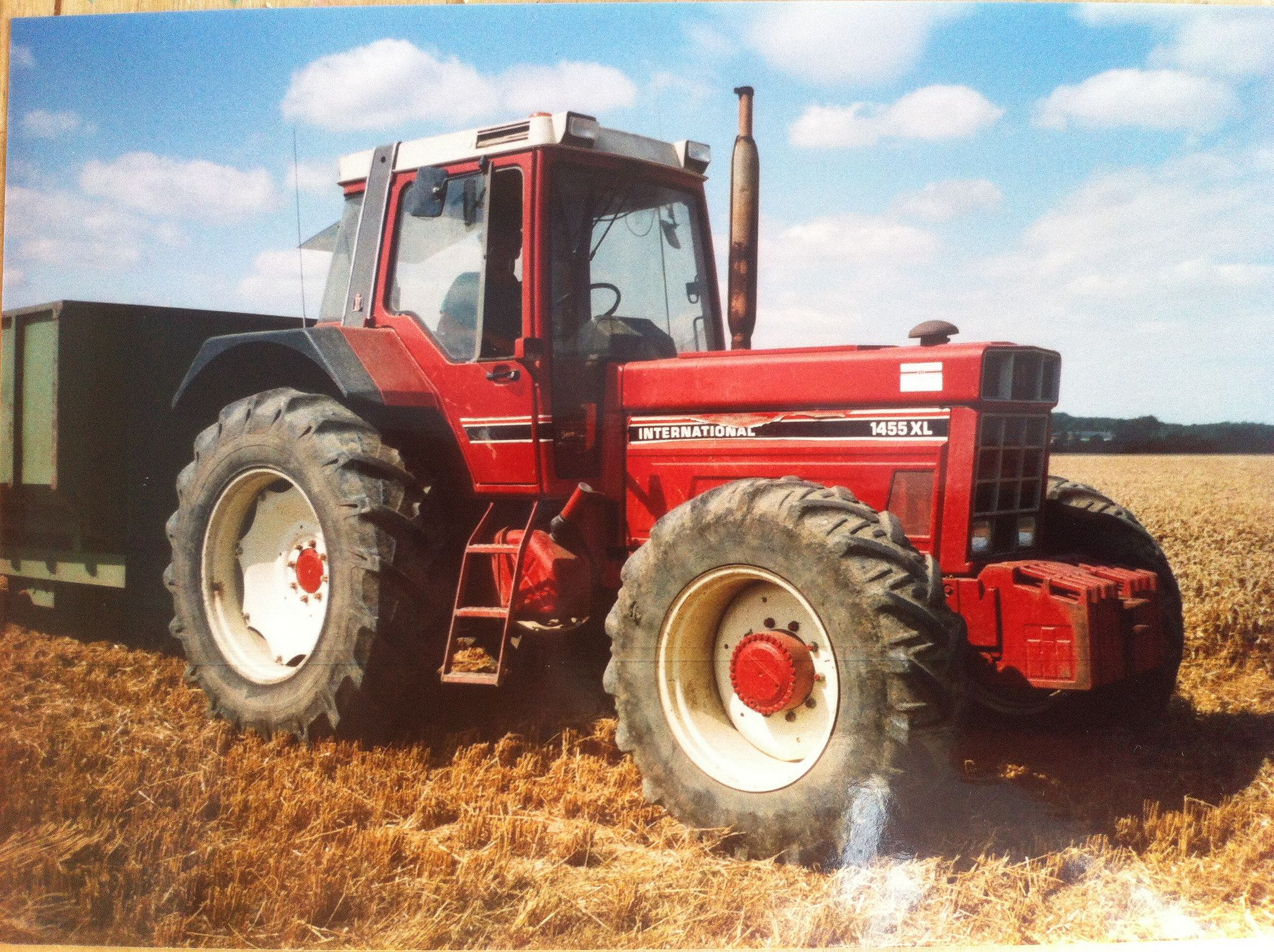 International 1455xl A Big Tractor In Its Day Complete With