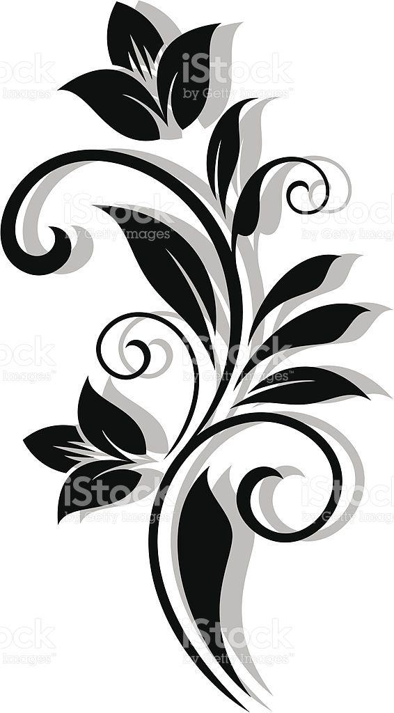 Abstrakte Blumenmuster Lizenzfreies vektor illustration