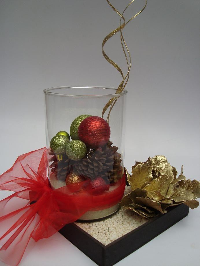 Dise o y decoraci n floral navidad mesas navide as - Centros de mesas navidenos ...