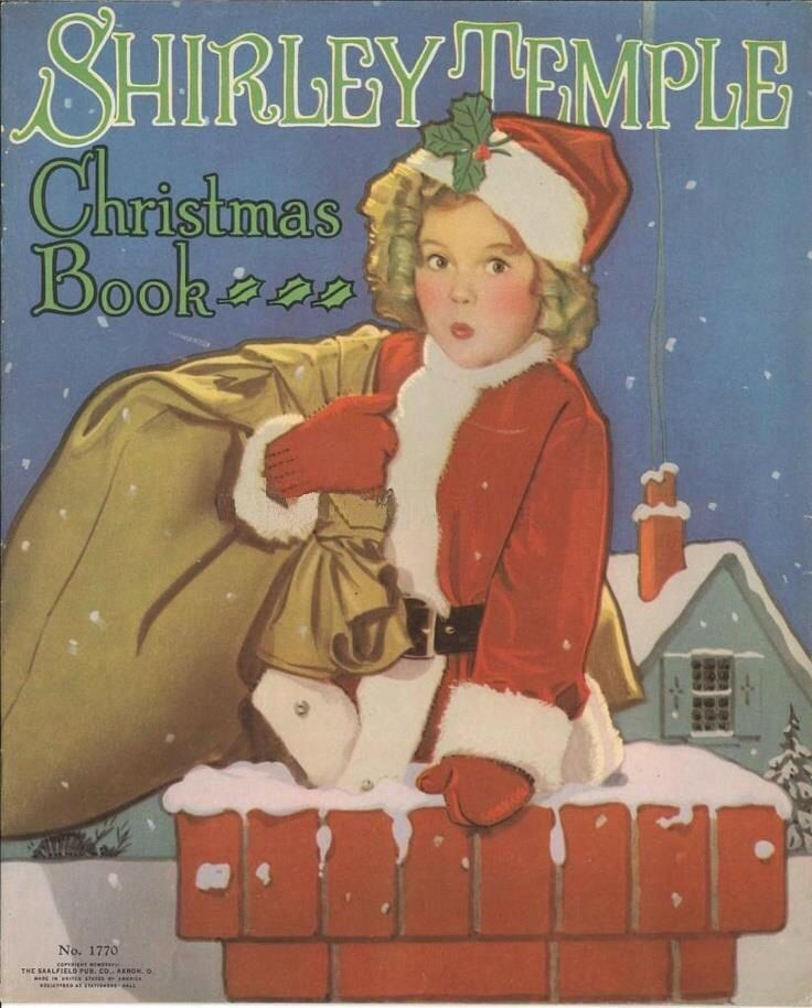 Bygone Christmas memories - Shirley Temple