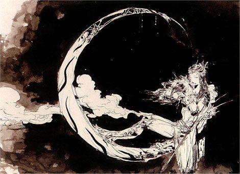 Yoshitaka Amano: Master Of Fantasy    love this artist work.