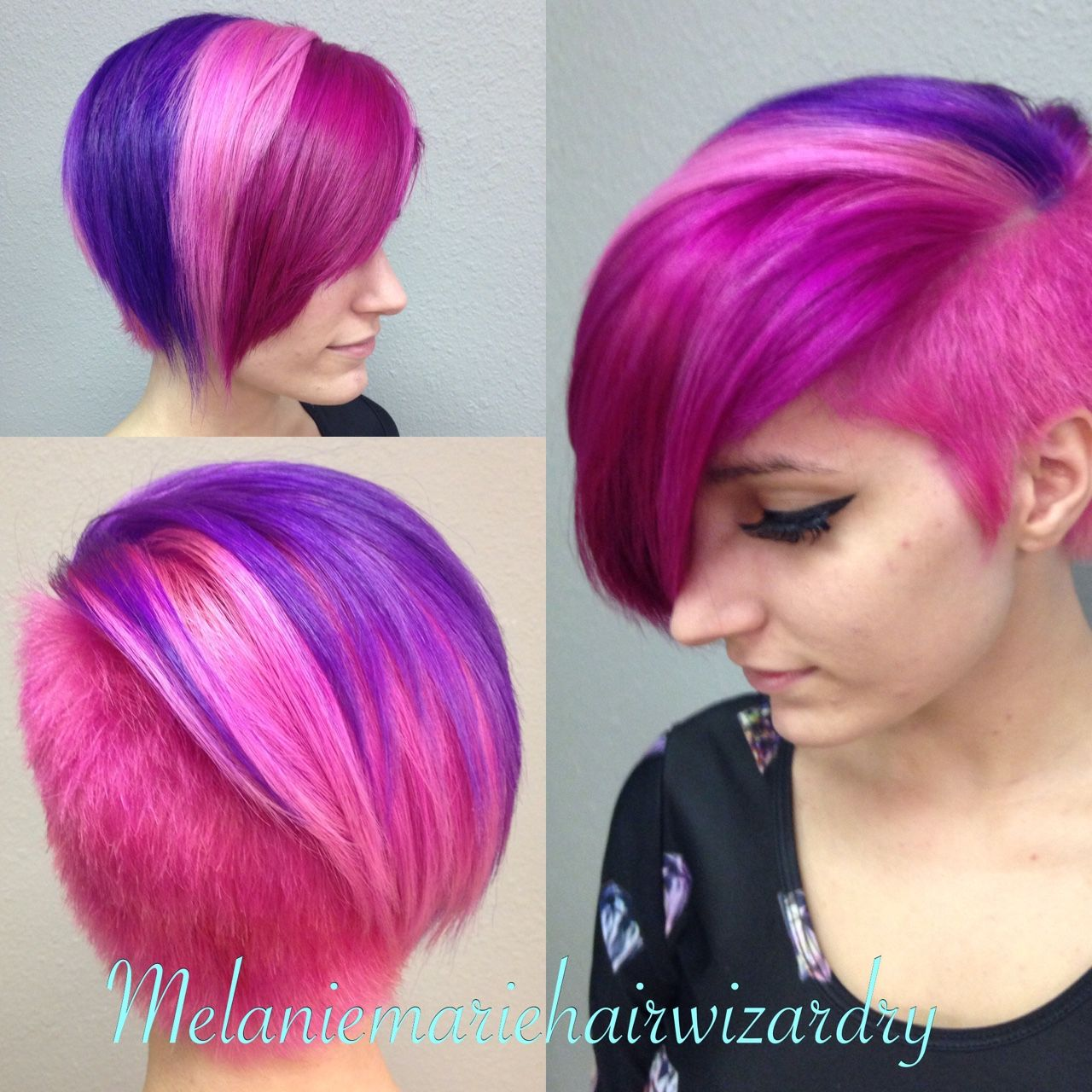 Double Color Hair