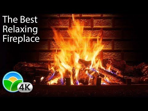 4k Relaxing Fireplace The Best Instrumental Christmas Music