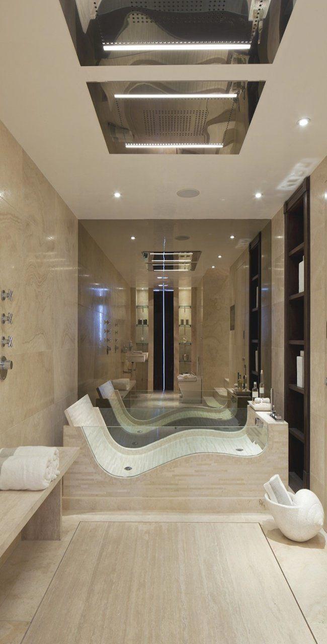 Very Creative And Luxury Bathroom Design Ideas Bathroom Modernbathroom Luxurybathroom Bathroomdesign Topluxurybathrooms Home House Design Dream House Beautiful bedrooms and bathrooms