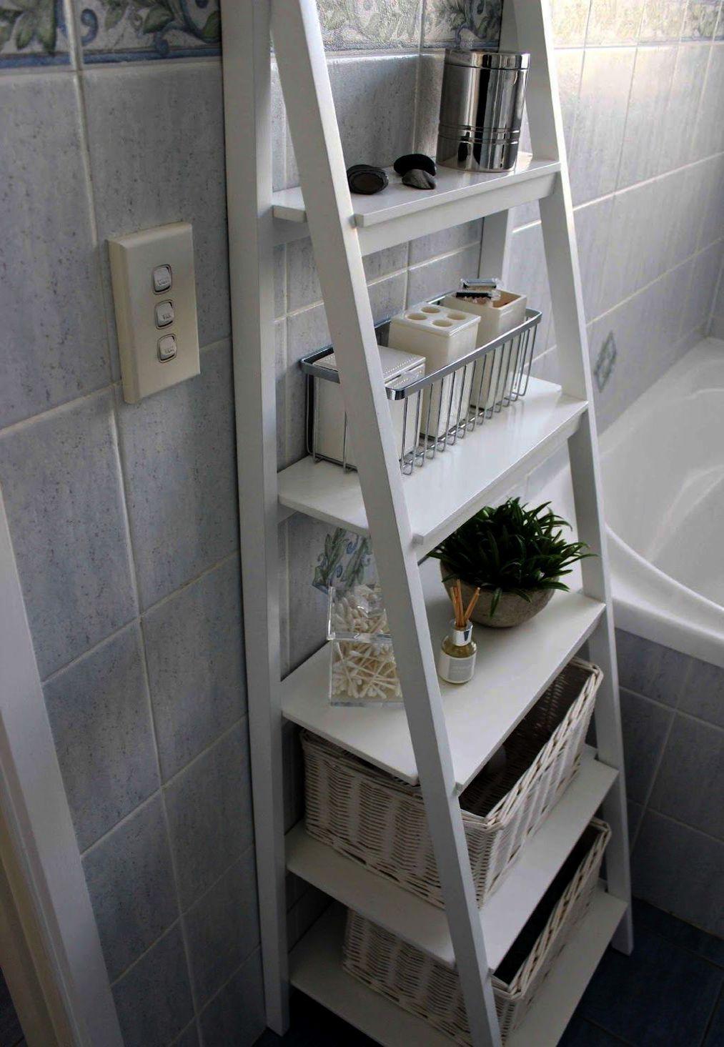 Mdesign Free Standing Bathroom Storage Shelves For Towels Soap