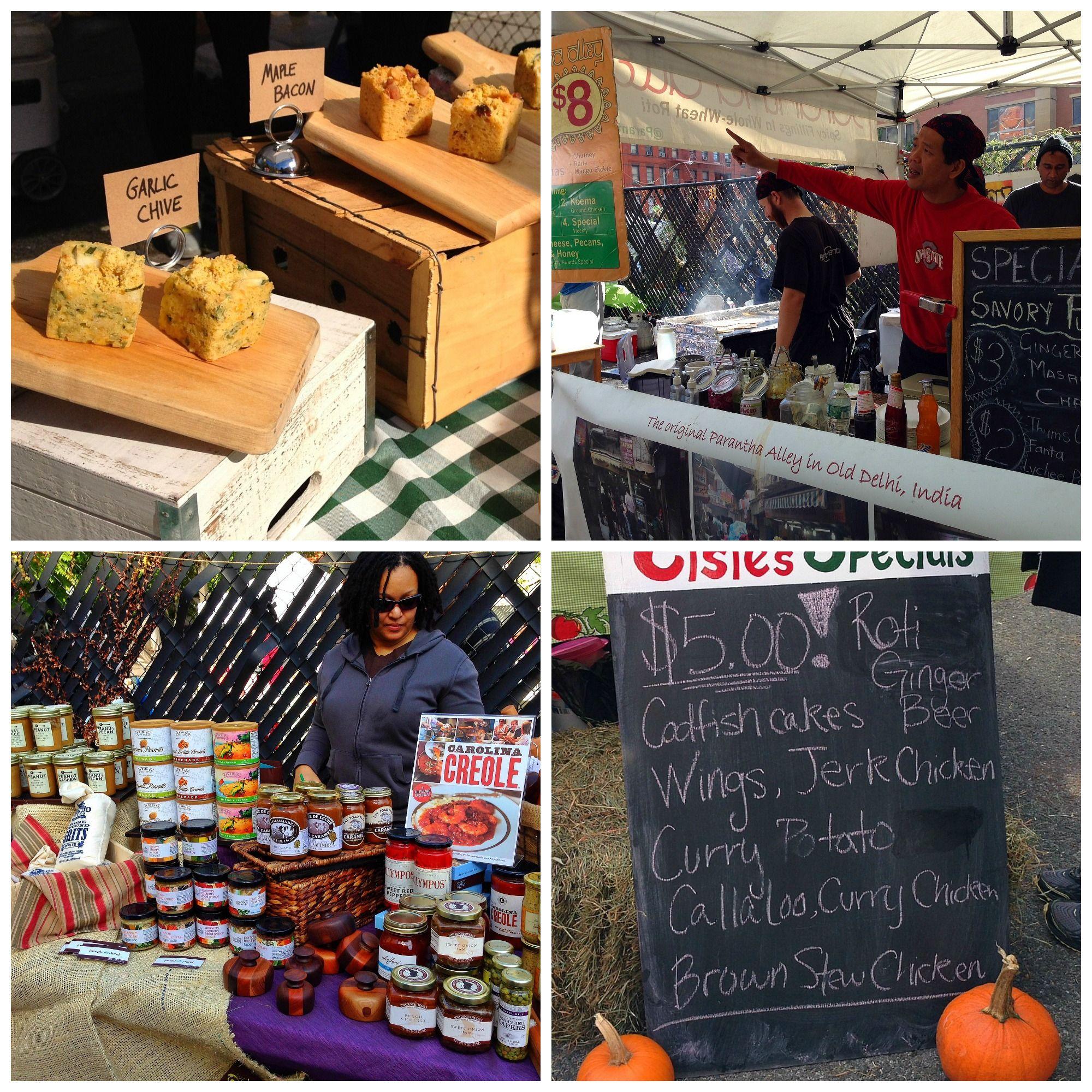 Harlem food festival frederick douglass blvd big apple