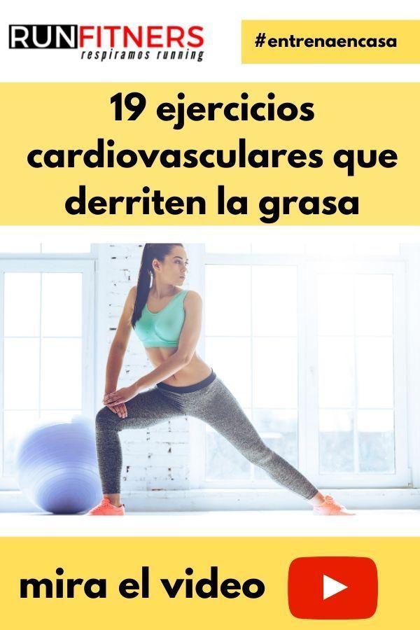 19 Ejercicios cardiovasculares que derriten la grasa