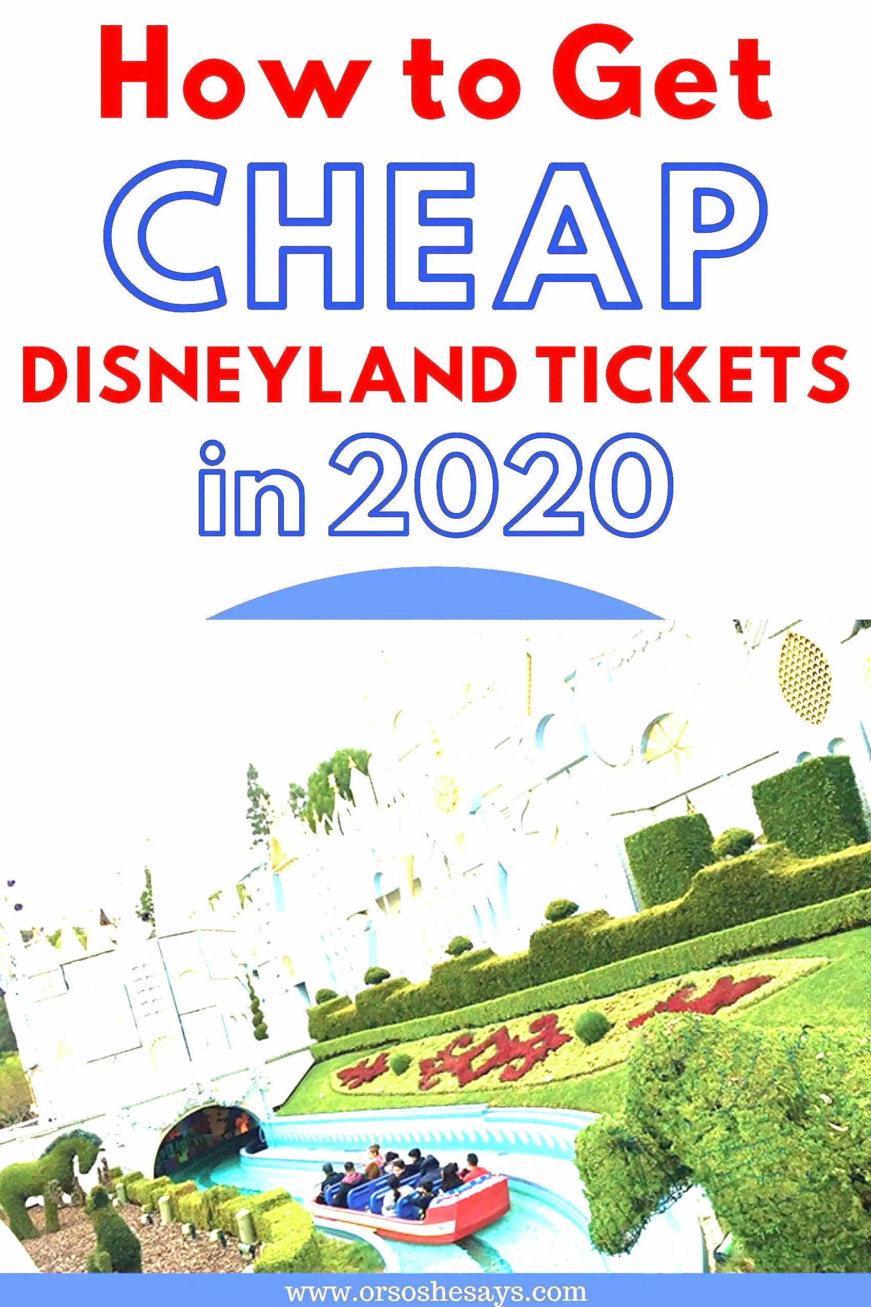 Photo of How to get cheap Disneyland tickets for your vacation