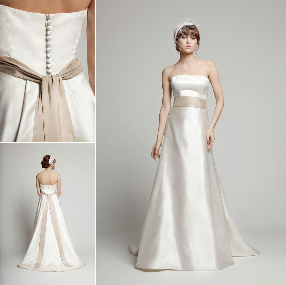 Melanie potro simply stylish gowns with exquisite details bridal