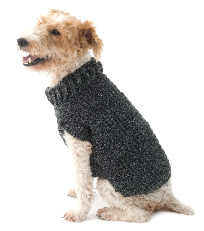The Poet Dog Sweater | crochet | Pinterest | Dos agujas, Mascotas y ...