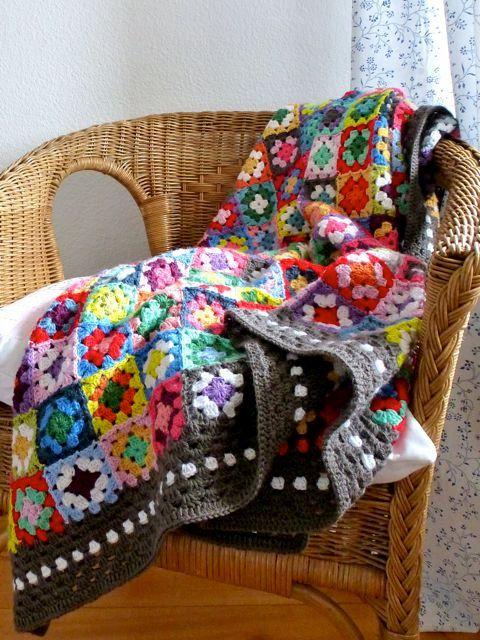 Beste Granny Ripple Häkeln Afghan Muster Bilder - Nähmuster-Ideen ...