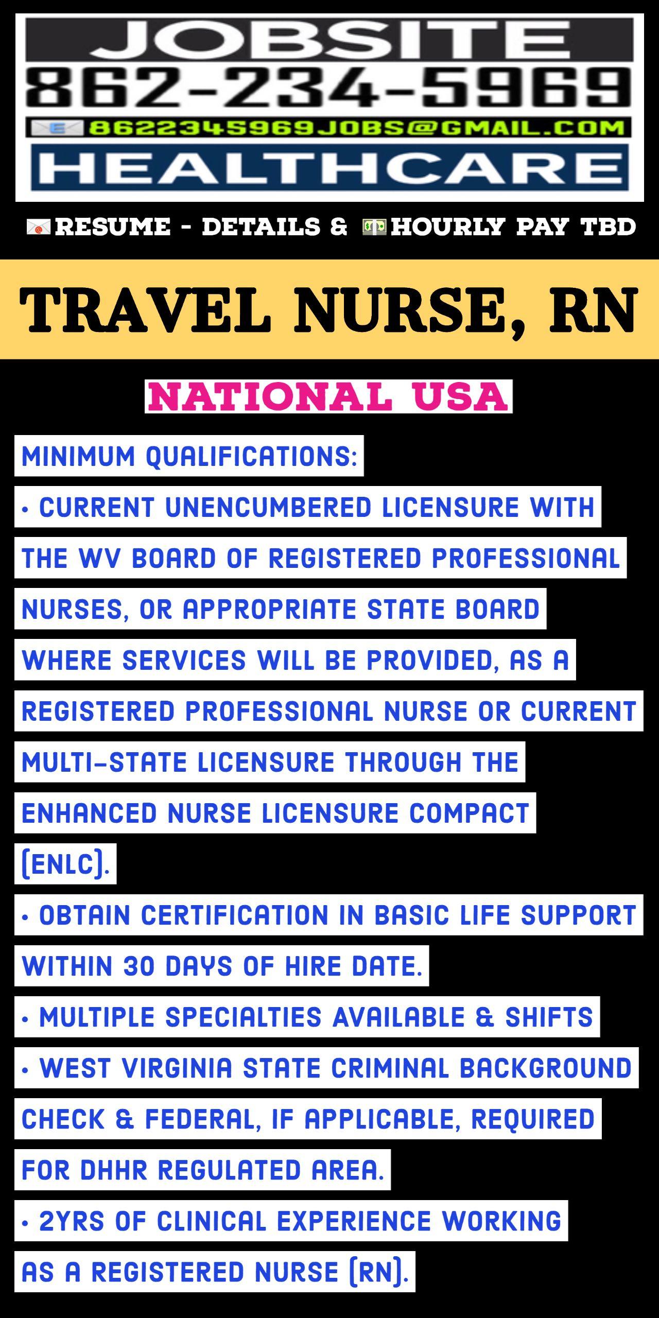 Travel nurse rn