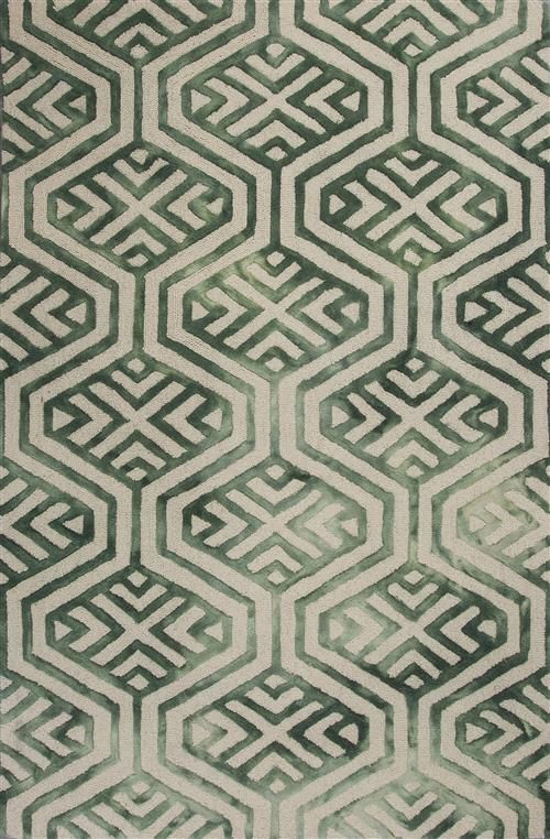 Canvas 2302 Ivory Green Dimensions Area Rugs